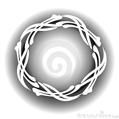 White Cross Circular Web Logo