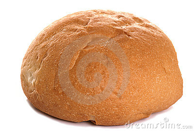White crusty roll