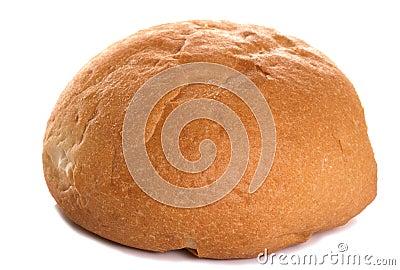 White crusty roll