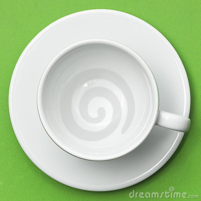 Free White Cup And Saucer Royalty Free Stock Images - 17283239