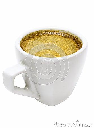 Free White Cup Of Espresso W/ Path Stock Photo - 446250