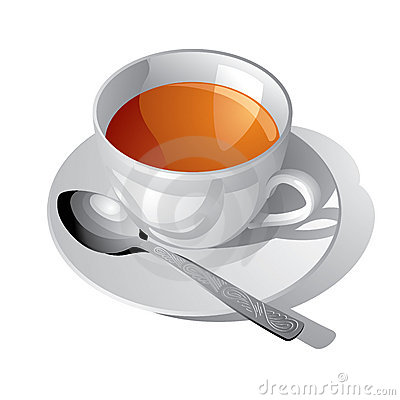 Free White Cup Of Tea Royalty Free Stock Photos - 5136858
