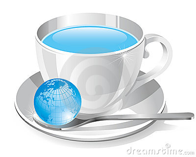 White cup of water