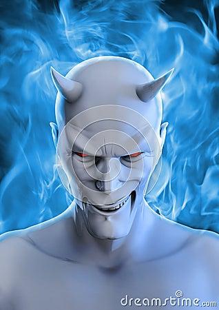 White devil Stock Photo