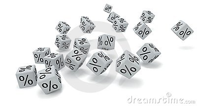White dice percent