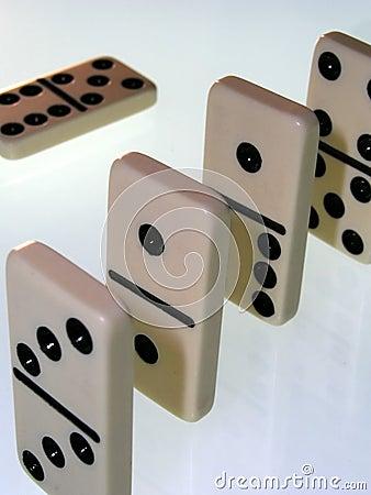 White dominos