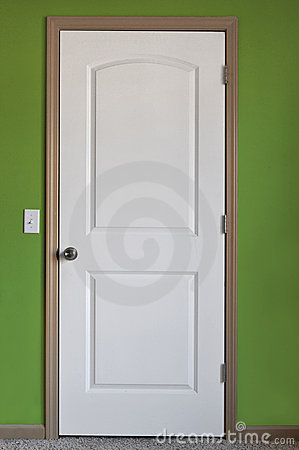 Free White Door Royalty Free Stock Images - 14026849