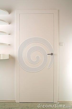Free White Door Royalty Free Stock Photo - 4249985