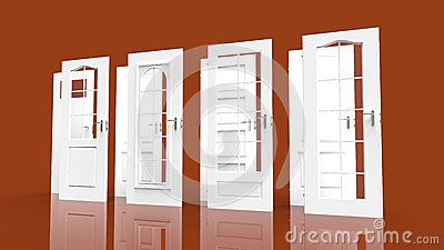 White doors choice