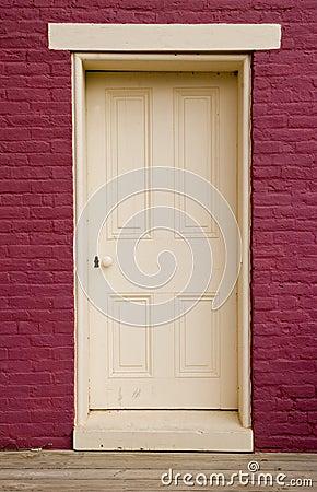 White doorway
