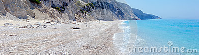 White Egremni beach (Lefkada, Greece)