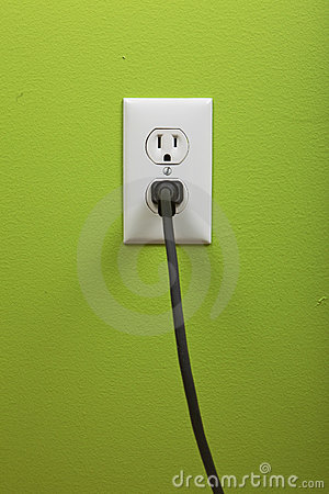 Free White Electric Outlet Stock Image - 12045381
