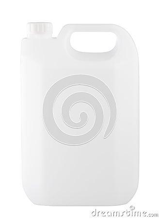 White empty gallon