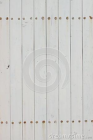 Free White Fence Isolated Stock Photo - 13899490