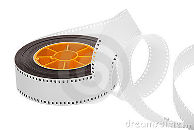 White film and reel