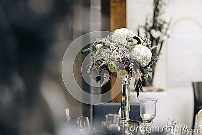 White Flower On Clear Glass Vase Free Public Domain Cc0 Image