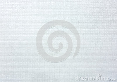 White Foam paper for packaging texture
