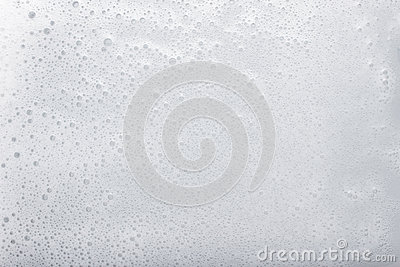 Soap foam with space for text