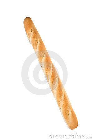 White french baguette bread