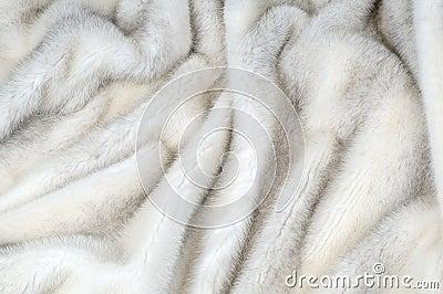White fur mink background