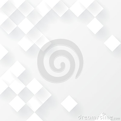 Free White Geometric Background Vector. Royalty Free Stock Images - 49503239