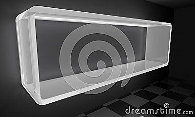 White glowing Frame