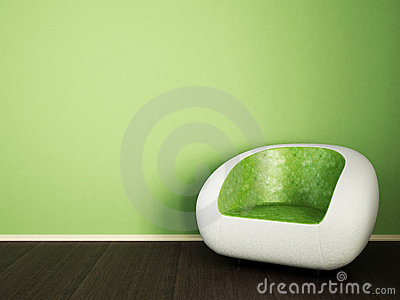 White green couch