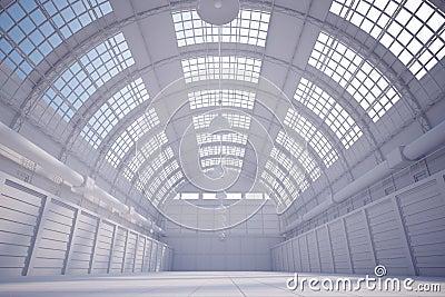White hangar