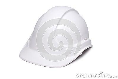 White Hardhat 3/4  to Camera