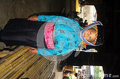 White Hmong Grandmother