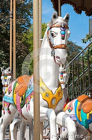 Free White Horse Stock Photography - 18663252