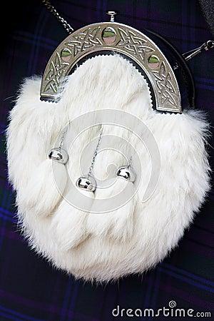 White Horse Hair Sporran