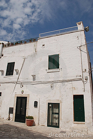 White House in Ostuni