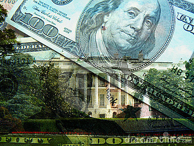 The White House and U.S. dollars