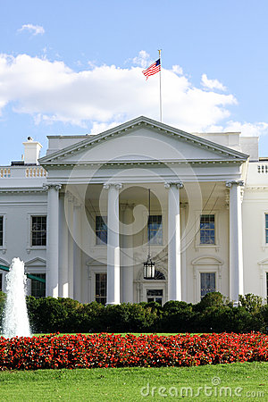 White House Washington DC Editorial Photography