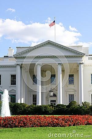 White House Washington DC Editorial Photography