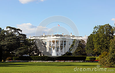 White House Washington DC Editorial Stock Image