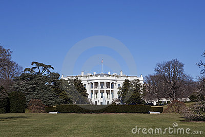 White House in Washington DC
