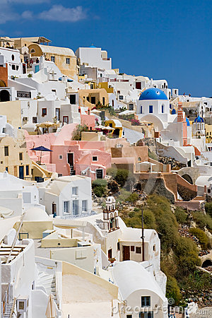 White houses of Oia