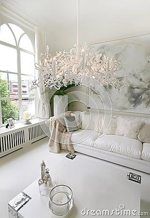 Free White Interior Royalty Free Stock Image - 8837446