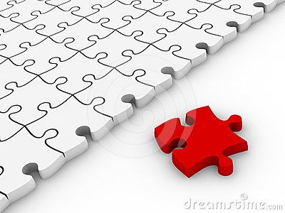 White jigsaw puzzles