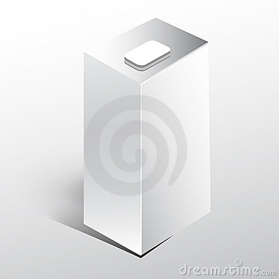 White Juice milk box