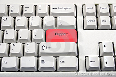 White keyboard with button name change