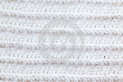 White knitting