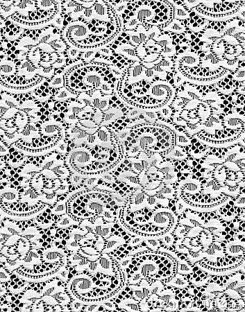 Free White Lace Stock Image - 6371211