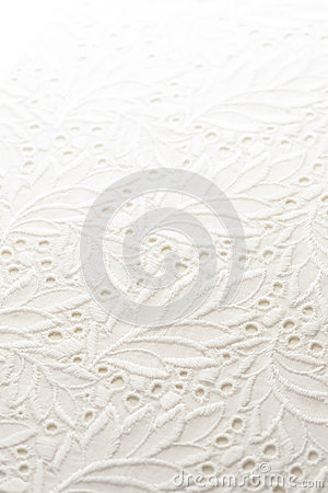 White lace cloth
