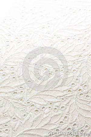 White lace cloth