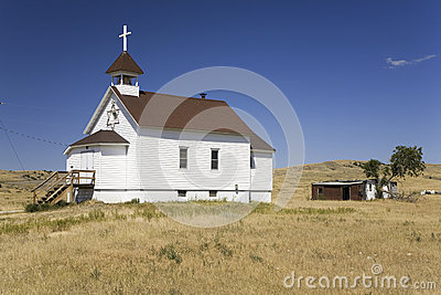 White Little Prairie Church
