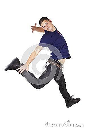 White man can jump.