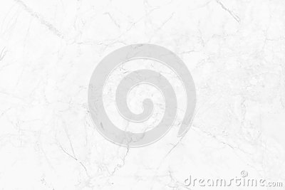 White marble texture in natural pattern, White stone floor. Stock Photo